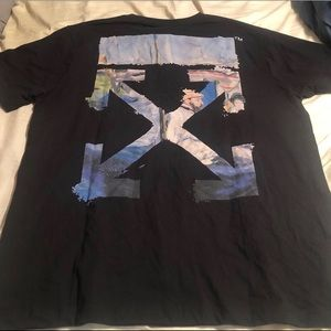 OFF -WHITE diagonal arrows t-shirt